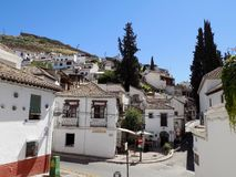 Sacromonte-Granada - Andalusia-Spanien - EUROPA arkivfoto