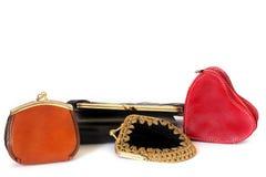 Sacs à main de dames Portefeuille de dames pour de petites choses Beaucoup de sacs à main type Mode beauté image libre de droits