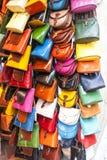 Sacs à main en cuir de dames Image stock