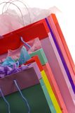Sacs à provisions colorés 2 Images stock