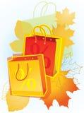 Sacs à provisions pour la promotion des ventes. Photo libre de droits
