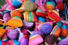 Sacs colorés Images stock