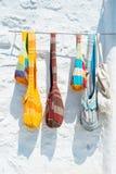 Sacs colorés Photo stock