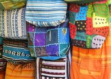 Sacs colorés orientaux photos libres de droits
