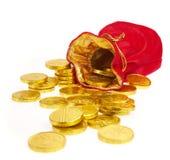 Sacs d'argent Photo stock