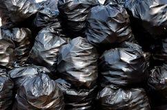 Sacs d'ordures photographie stock libre de droits