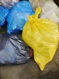 Sacs d'ordures Images libres de droits