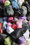 Sacs d'ordures Image stock