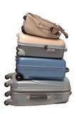 Sacs de bagage et de déplacement Photographie stock libre de droits