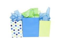 Sacs de cadeau d'achats Image stock