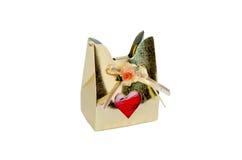 Sacs de cadeau d'isolat Images stock