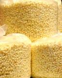 Sacs de maïs éclaté Image libre de droits