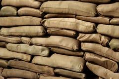 Sacs de sable Image stock