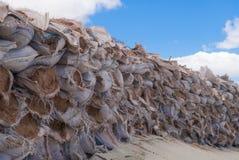 Sacs de sable pour la protection photos stock image 36426633 - Sac de sable inondation ...