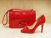 Sacs et chaussures Image libre de droits