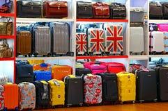 Sacs et magasin de bagage images stock
