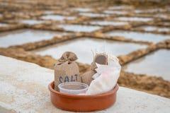 Sacs Gozo de sel image stock