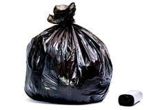 Sacs pour des ordures Photo libre de droits