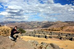 Sacsayhuamán Stock Image