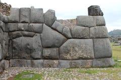 Sacsayhuaman墙壁 库存照片