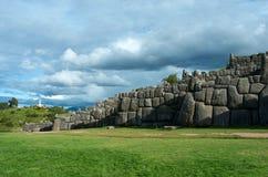 Sacsayhuaman,秘鲁 免版税图库摄影