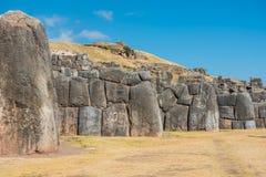 Sacsayhuaman губит перуанские Анды Cuzco Перу стоковое фото