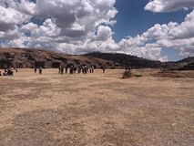 Sacsayhuaman photo stock
