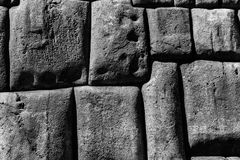 Sacsayhuaman Archaeological Site, Peru Royalty Free Stock Photography