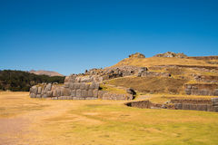 Sacsayhuaman, archeological Inca site Stock Images