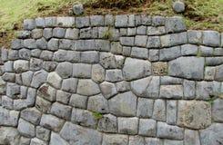 Sacsayhuaman citadel wall in Cuzco, Peru Stock Image