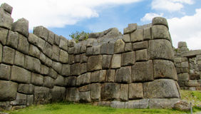 Sacsayhuaman city in Peru Stock Photography