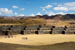 Sacsayhuaman Cusco Royalty Free Stock Photography