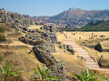 Sacsayhuaman, Cusco, Pérou Photos libres de droits