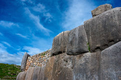 Sacsayhuaman in Cusco, Peru Royalty Free Stock Images