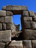 Sacsayhuaman dans Cusco, Pérou image libre de droits