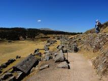 Sacsayhuaman dans Cusco, Pérou image stock