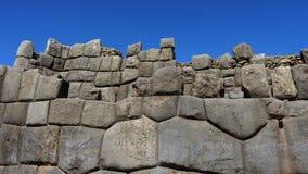 Sacsayhuaman dans Cusco, Pérou images libres de droits