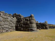 Sacsayhuaman dans Cusco, Pérou photo libre de droits
