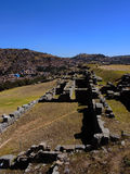 Sacsayhuaman dans Cusco, Pérou photo stock