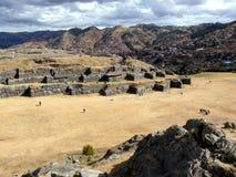 Sacsayhuaman en Cusco, Perú Foto de archivo
