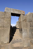 Sacsayhuaman Fortress Stock Photo