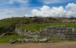 Sacsayhuaman inca city ruin Royalty Free Stock Image