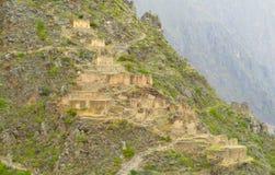 Sacsayhuaman inca city ruins wall Stock Photography