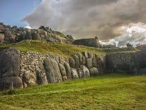 Sacsayhuaman Inca Fortress Royalty Free Stock Photography