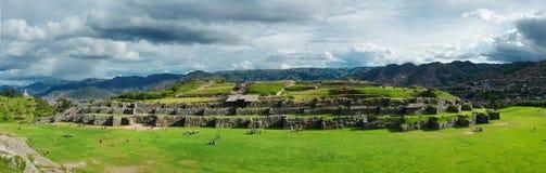 Sacsayhuaman, Inca ruins ,Cusco, Peru Stock Image