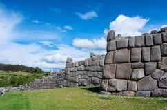 Sacsayhuaman, Inca ruins in Cusco, Peru Stock Photo