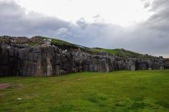 Sacsayhuaman, inka ruiny w Cusco zdjęcie stock