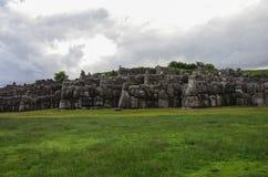 Sacsayhuaman, inka ruiny w Cusco zdjęcia stock