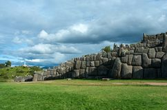 Sacsayhuaman, Perù Fotografia Stock Libera da Diritti