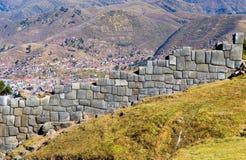 Sacsayhuaman, Perú Fotos de archivo